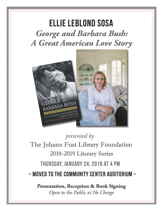 Ellie LeBlond Sosa - George and Barbara Bush